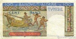 100 Francs type 1946 Hermes TUNISIE  1946 P.24 TTB