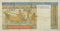 100 Francs type 1946 Hermes TUNISIE  1947 P.24 TTB