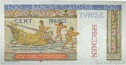 100 Francs type 1946 Hermes TUNISIE  1946 P.24s pr.NEUF