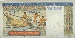 100 Francs TUNISIE  1948 P.24 TTB