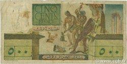 500 Francs TUNISIE  1950 P.28 B