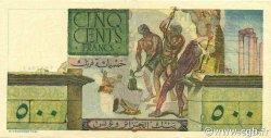 500 Francs TUNISIE  1952 P.28 SUP