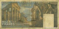 1000 Francs TUNISIE  1950 P.29a pr.TB