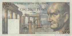 5000 Francs TUNISIE  1950 P.30a TTB+