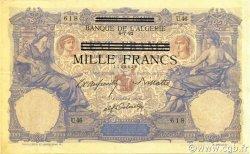 1000 Francs sur 100 Francs type 1892 TUNISIE  1943 P.31 SUP
