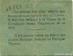 1 Franc TUNISIE  1916 P.-- TTB