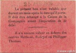 2 Francs TUNISIE  1916 P.-- SPL