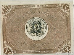 2 Francs TUNISIE  1918 P.34 SUP+