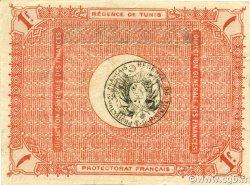 1 Franc TUNISIE  1918 P.36e TTB+