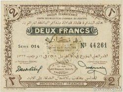 2 Francs TUNISIE  1918 P.37c SUP+