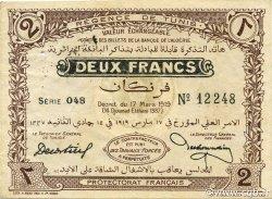 2 Francs TUNISIE  1919 P.47a pr.SUP