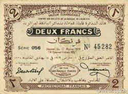 2 Francs TUNISIE  1919 P.47b SPL