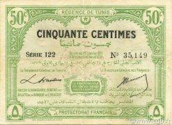 50 Centimes TUNISIE  1920 P.48 TTB à SUP