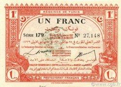 1 Franc TUNISIE  1921 P.52 NEUF