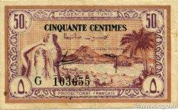 50 Centimes TUNISIE  1943 P.54 TTB