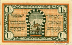 1 Franc TUNISIE  1943 P.55 SUP+