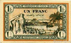 1 Franc TUNISIE  1943 P.55 SPL+