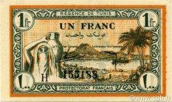 1 Franc TUNISIE  1943 P.55 SPL