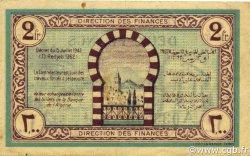 2 Francs TUNISIE  1943 P.56 TTB+