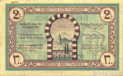 2 Francs TUNISIE  1943 P.56 SUP