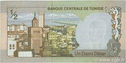 1/2 Dinar TUNISIE  1972 P.66a pr.NEUF