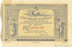 1 Franc TUNISIE  1882 P.-- SUP