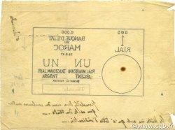 1 Rial Makhzani MAROC  1917 P.00 TTB