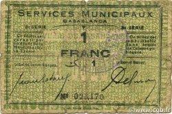 1 Franc MAROC  1919 P.-- B