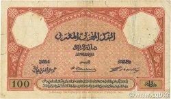 100 Francs 1920 MAROC  1921 P.14 B+