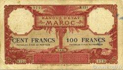 100 Francs 1920 MAROC  1925 P.14 B