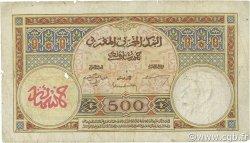 500 Francs type 1923 modifié 1946 MAROC  1947 P.15b pr.B