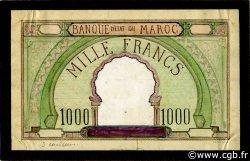 1000 Francs Essai MAROC  1920 P.-- TTB
