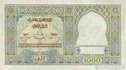 1000 Francs type 1921 MAROC  1949 P.16c TTB
