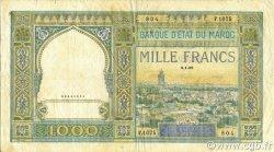 1000 Francs MAROC  1950 P.16c pr.TTB