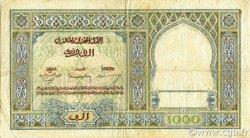 1000 Francs type 1921 MAROC  1950 P.16c pr.TTB