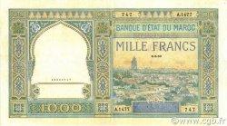 1000 Francs MAROC  1950 P.16c SUP