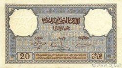 20 Francs 1920 modifié 1941 MAROC  1941 P.18b SUP+