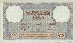 20 Francs MAROC  1942 P.18b SUP