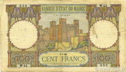 100 Francs type 1928 MAROC  1928 P.20 TB