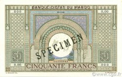 50 Francs type 1935 MAROC  1935 P.21s pr.NEUF