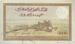 5000 Francs type 1937 MAROC  1947 P.23c pr.TTB