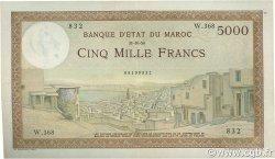 5000 Francs MAROC  1950 P.23c TTB+