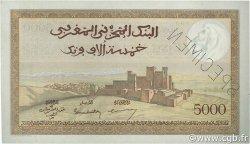 5000 Francs type 1937 MAROC  1945 P.23s pr.NEUF