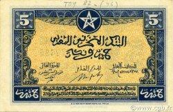 5 Francs type 1943 MAROC  1943 P.24a pr.NEUF