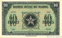 10 Francs type 1943 MAROC  1943 P.25 pr.NEUF