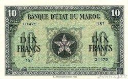 10 Francs type 1944 MAROC  1944 P.25 SUP