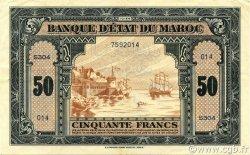 50 Francs type 1944 MAROC  1944 P.26 TTB+