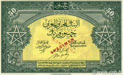 50 Francs type 1943 MAROC  1943 P.26s pr.NEUF