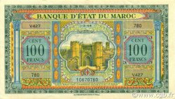 100 Francs type 1944 MAROC  1944 P.27 SUP