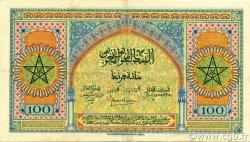 100 Francs MAROC  1944 P.27 SUP